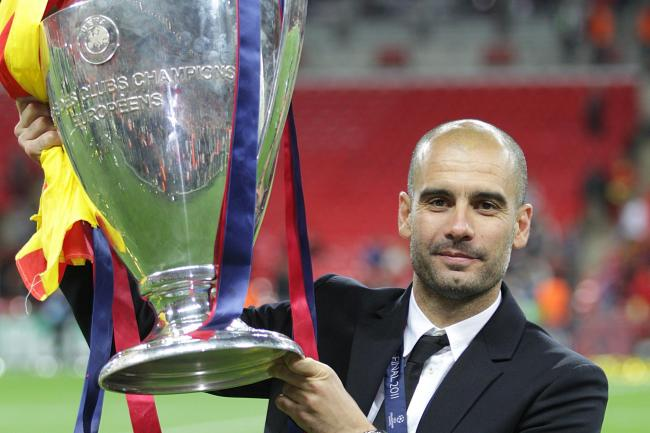 Pep Guardiola continues to be measured against his past successes in the Champions League