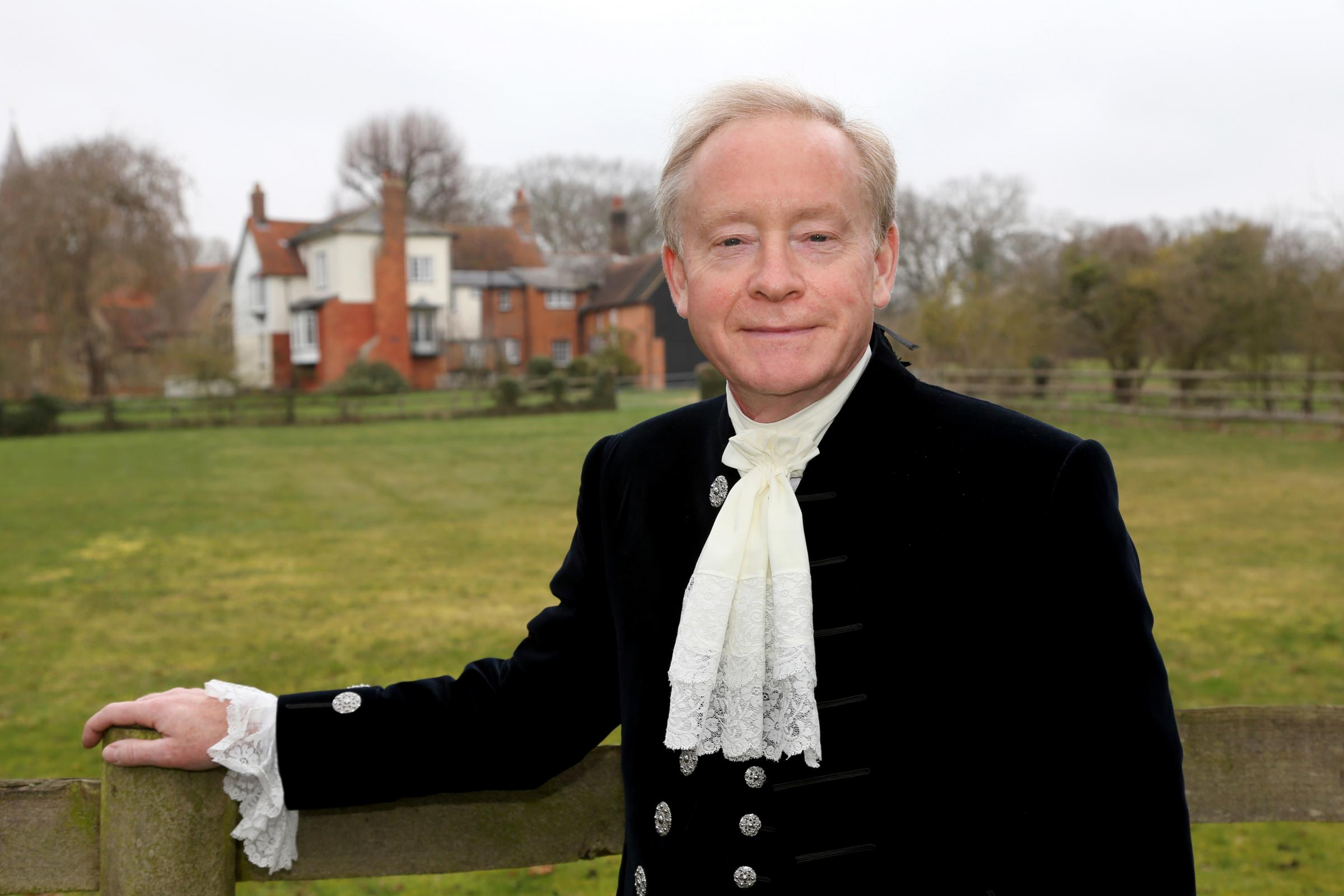 Dr James Bettley JP DL FSA is the 839th High Sheriff of Essex (landscape)