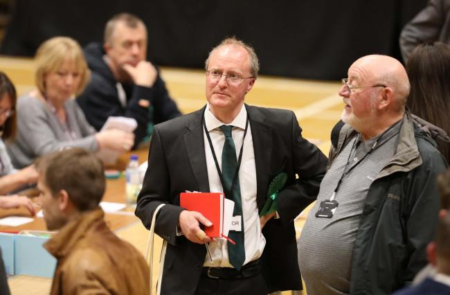 Success - Mark Goacher was elected as Colchester's first Green Party councillor