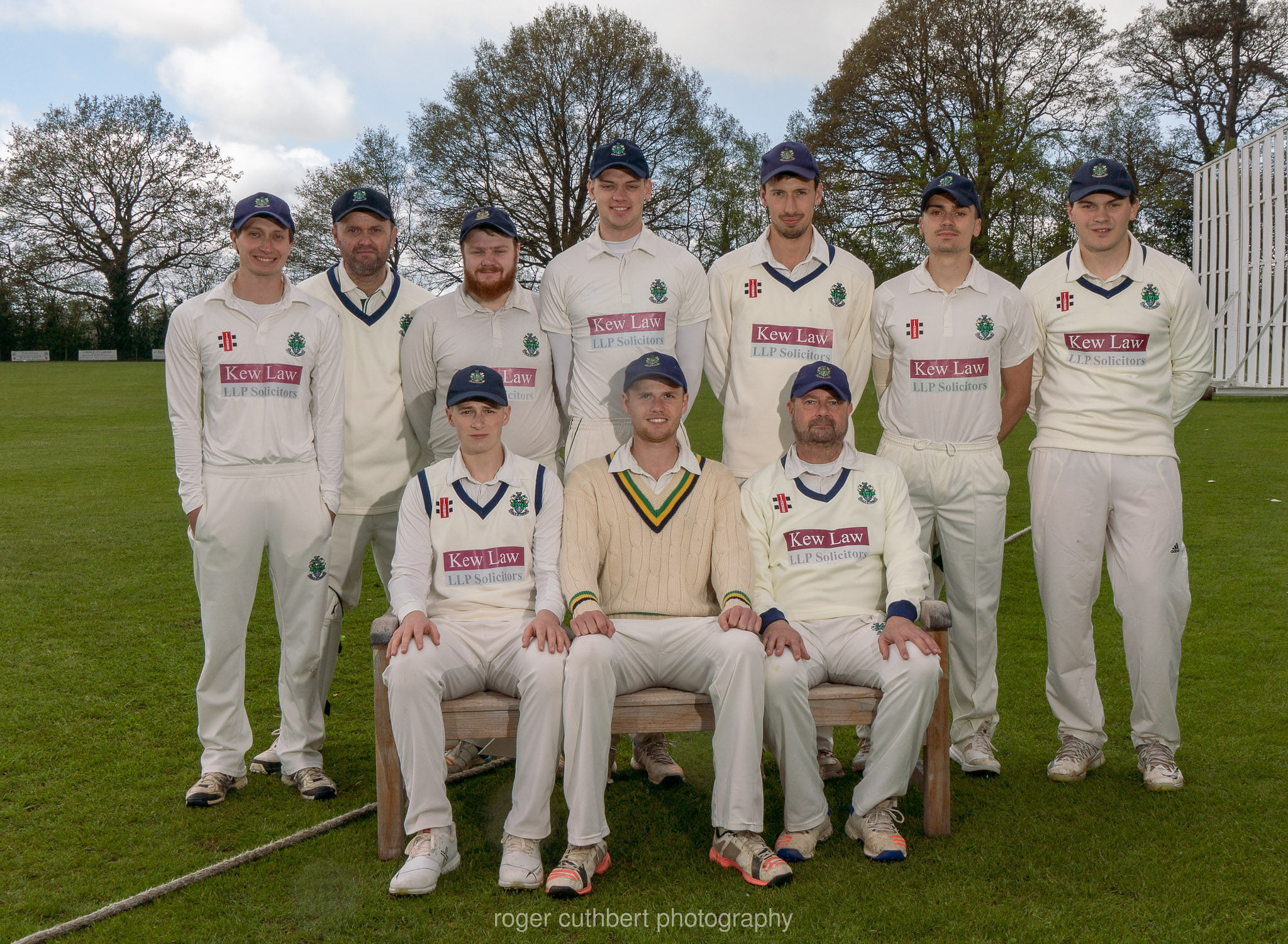 Halstead Cricket Club's first team. Picture: Roger Cuthbert LRPS
