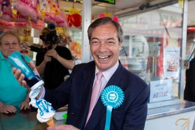 Backing down - Nigel Farage says the Brexit Party won't stand in constituencies which voted Tory in 2017