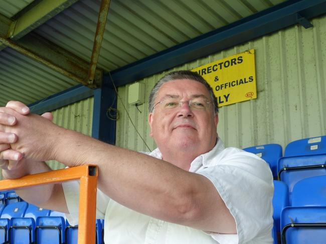 Braintree Town chairman Lee Harding.