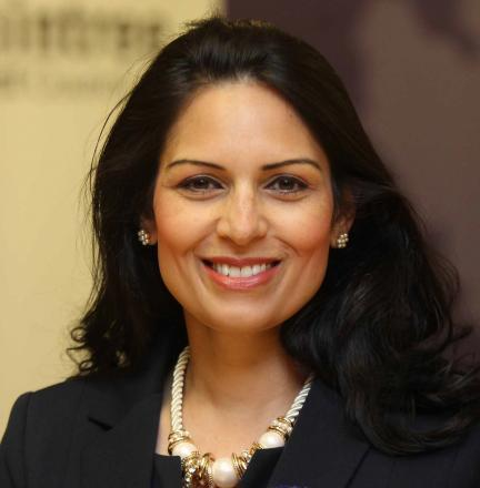 REMEMBER: Witham MP Priti Patel remembers victims of genocide.